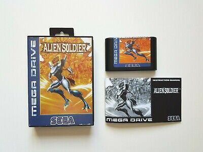Jeu complet Alien Soldier Megadrive, reproduction