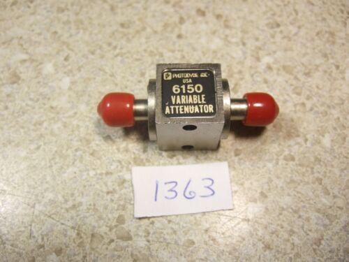 Photodyne 6150 Variable Attenuator - SMA threads - Pull!