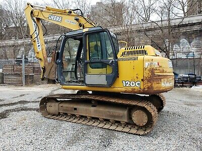 John Deere 120c Track Excavator Used -john Deere Excavator Ff120cx06144