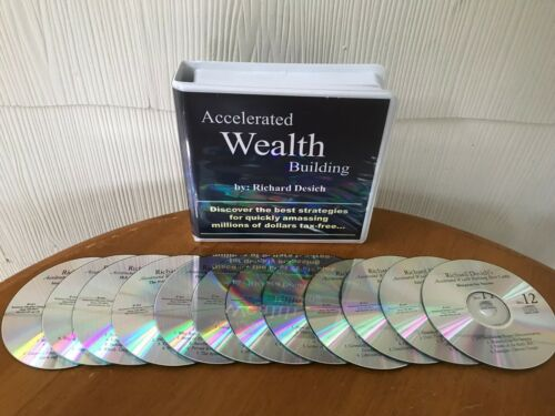 Accelerated Wealth Building Bootcamp By Richard Desich - 12 CD