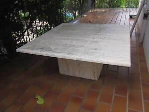Travertine table Blakehurst Kogarah Area Preview