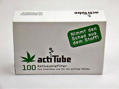 actiTube (Tune) Aktivkohle Filter  8mm 100 Stück acti Tube