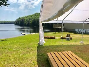 RENT OUR TENT TABLES CHAIRS AND MORE!