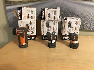 Ridgid Jobmax multi-tool heads (NEW)