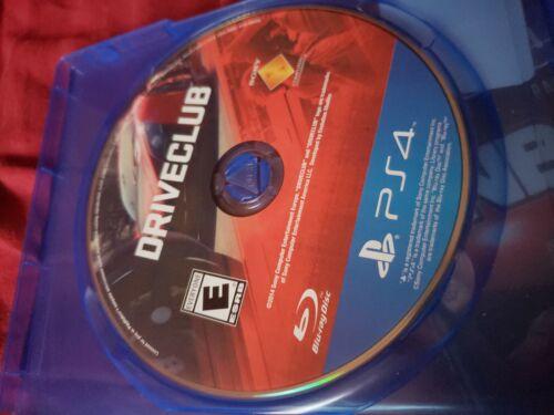 Driveclub Sony PlayStation 4, 2014  - $5.00