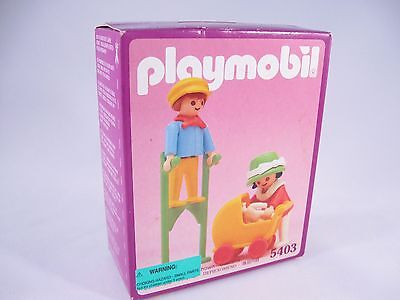 PLAYMOBIL VINTAGE 5403 CHILDREN STILTS VICTORIAN MANSION DOLLHOUSE - NEW IN BOX!