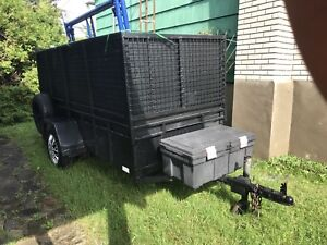 Solid metal trailer 1300$ mint shape ready to work