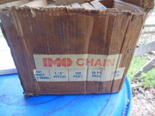 "Acme chain 68964 41 RIV 10 ft  1/2"" pitch  quantity 8"