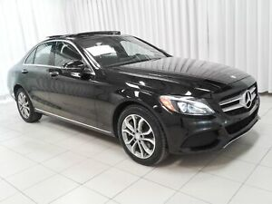 2016 Mercedes Benz C-Class C300 4MATIC AWD LUXURY SEDAN