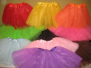 NEW-Girls-Toddler-Tutu-Ballet-Costume-Dress-Up-11-Colors-Leopard-Print-Fits-3-9y