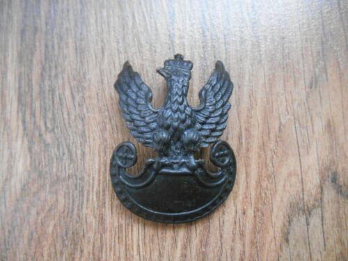 Polish eagle badge for cap  2 ww