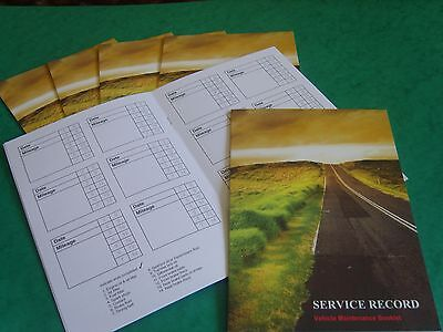 Range Rover Service Book - Service History Maintenance Record Log Replacement.