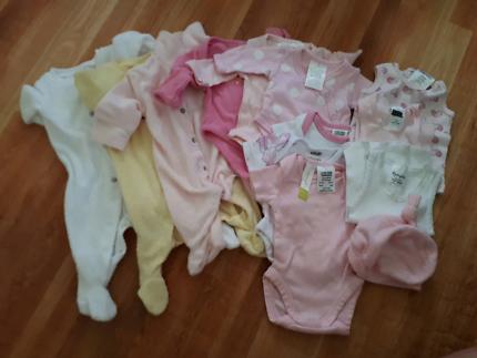 Girls Premmie Baby Clothes