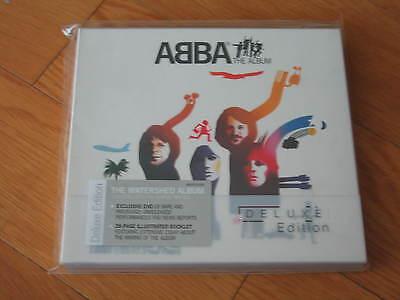 ABBA THE ALBUM DELUXE RARE OOP DIGIPAK CD+DVD