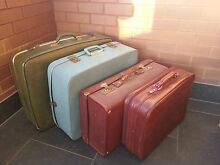 Assorted Vintage & Retro Suitcases Wollongong Wollongong Area Preview