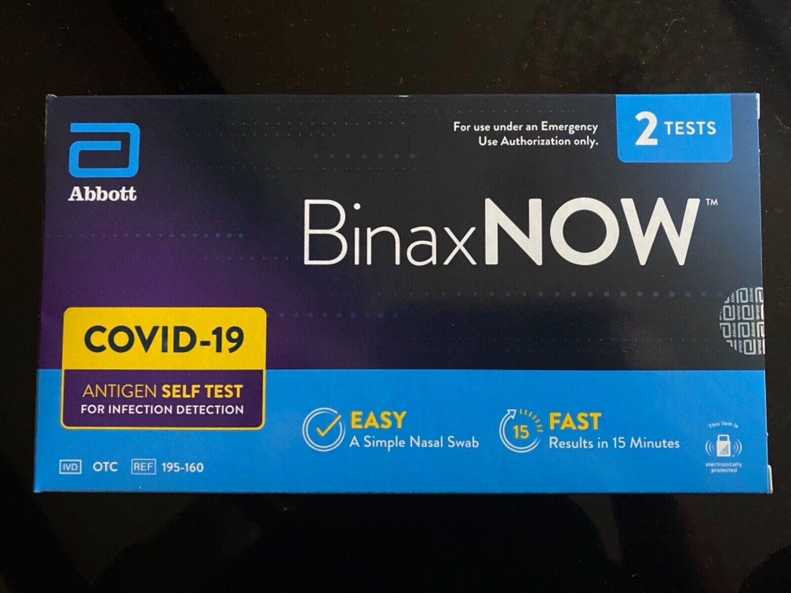 Binaxnow Binax Now Test - $39.99