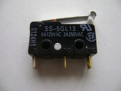 NEW OMRON SS-5GL13 MICRO SWITCH 5A125VAC 3A250VAC A4