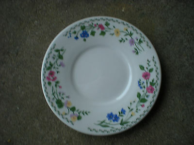 "Farberware Stoneware ENGLISH GARDEN  6 1/4"" SAUCER 225"