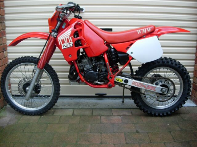 Cr 125 Wmw Woodies Motorcycles Wyong 250 Rego Compliance