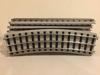 """MTH Lionel Standard Gauge FULL 72"""" Curve Track LN"""