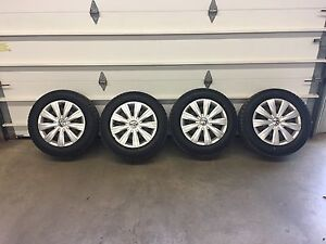 Vw steel wheels / winter tires