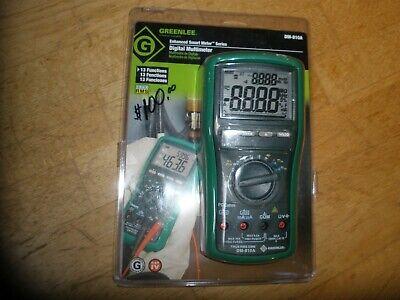 Greenlee Dm-810a True Rms Digital Multimeter