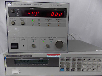 Agilent Hp 6038a System Power Supply 0-60v 0-10a Tested