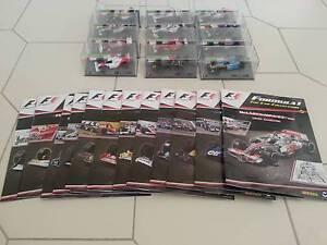 1/43 Formula 1 collection + magazines Garden Suburb Lake Macquarie Area Preview