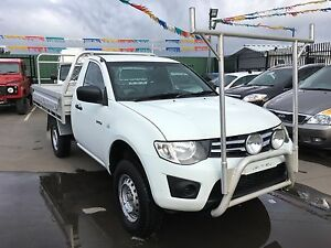 2010 Mitsubishi Triton Ute Turbo diesel Ravenhall Melton Area Preview