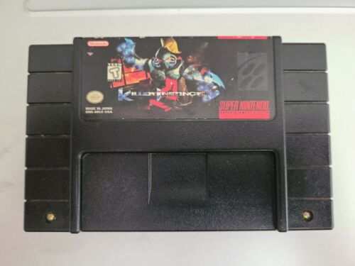 Killer Instinct Super Nintendo, 1995 SNES Tested Working Authentic - $24.99