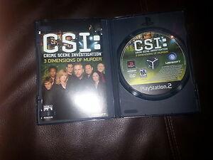 CSI - Play station 2 game St. John's Newfoundland image 1