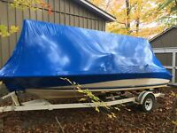 MOBILE BOAT SHRINK WRAPPING