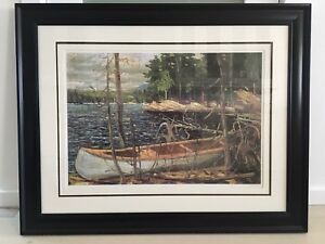 "Tom Thomson ""The Canoe"" framed print"