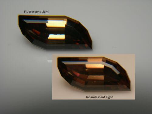 2.10ct rare Fancy Cut Chrysoberyl gem Tanzania Natural Untreated Color Shift