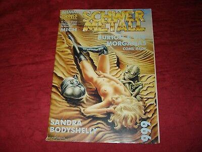 Comic, SchwermetallNr.113, 10.Jahrgang, Burton&CYB, Morganas Comeback, Sandra