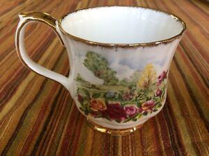 Royal Albert Old Country Roses Garden Coffee Mug