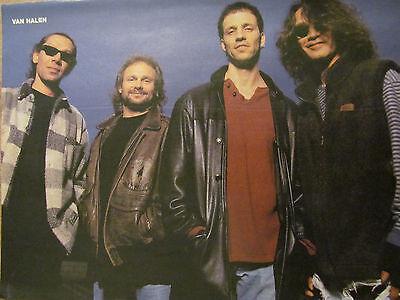 Van Halen, Full Page Vintage Pinup
