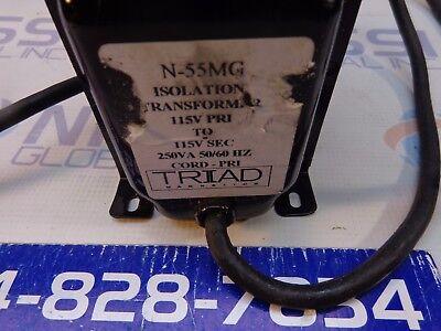 Triad N-55mg Isolation Transformer 115v 250va 5060hz