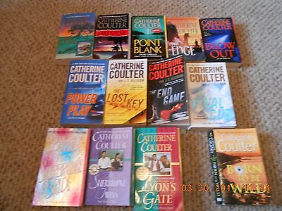 Lot of 13 Paperback Books By Cathering Coulter...The FBI and Sherbrooke Series