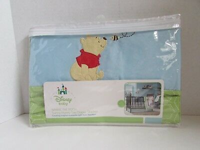 Disney Baby Winnie the Pooh Sunny Hunny Day Diaper Stacker Blue NOS