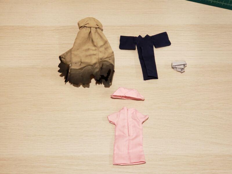 1/12 Miniature Cloak Hoodie Costume Clothe Bathrobe Figma