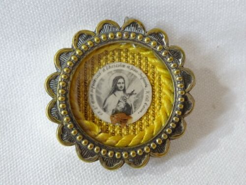 ✝ Reliquary Relic St. Therese of Lisieux Therese of the Child Jesus