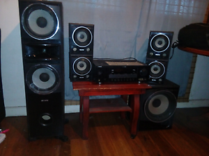 Yamaha amp and sony sorround speakers Bayswater Bayswater Area Preview