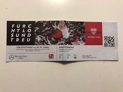 Sammlerticket 2.Bundesliga.VfB Stuttgart-FC St.Pauli vom 17.8.2019. Schnäppchen!