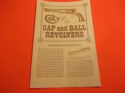 Books & Manuals - Colt Revolvers