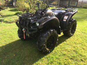 2003 Yamaha Grizzly 660 Limited Edition. Very low mileage.