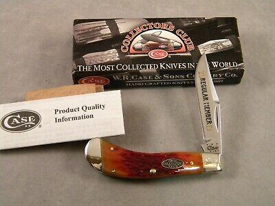 CASE XX TB61110 SS TONY BOSE SADDLEHORN KNIFE ~ 2013 CASE COLLECTORS CLUB KNIFE