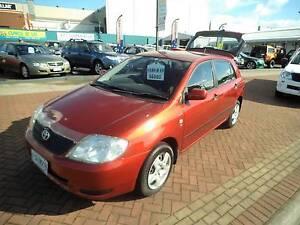 2003 Toyota Corolla Hatchback South Burnie Burnie Area Preview