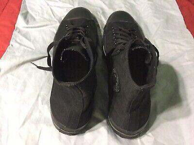 Converse All Star Chuck Taylor Hi Top Black Monochrome Sneakers SZ 17! #X3310