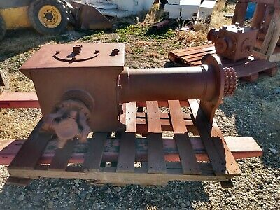 Cooper 350 Hp Right Angle Gear Box For Swab Rig Or Pulling Unit.